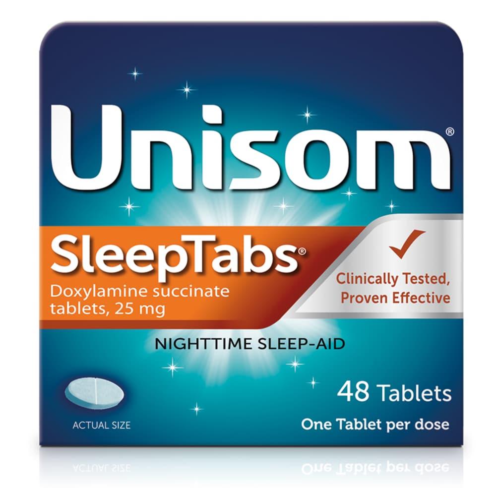 kroger - unisom sleeptabs doxylamine succinate tablets