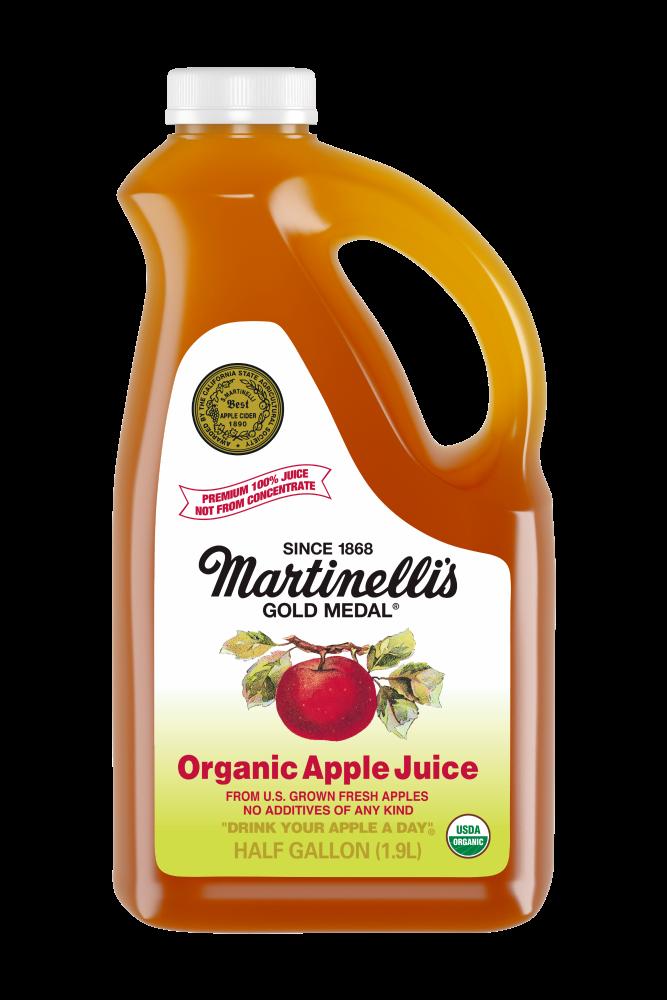 100% Pure Organic Apple Juice