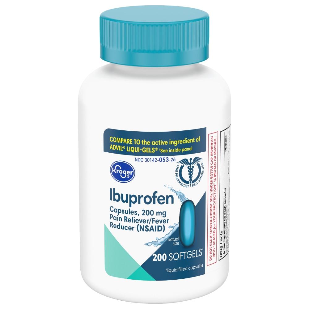 Ibuprofen Liquid Softgels 200mg (MAX 3