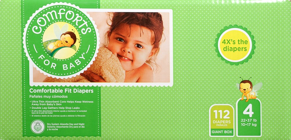 Comforts Diapers Size 3 Comfort Diapers Value Size Boxes