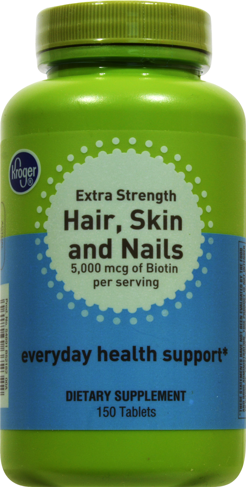 King Soopers - Kroger Extra Strength Hair Skin & Nails Everyday ...