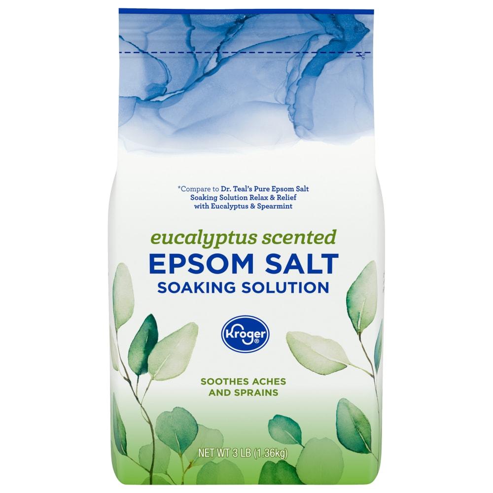 Kroger - Kroger® Soothe Eucalyptus Epsom Salt, 3 lb