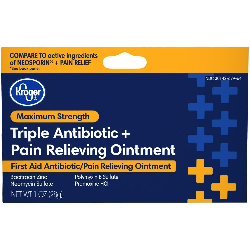 Dillons Food Stores - Kroger Triple Antibiotic + Pain Relief