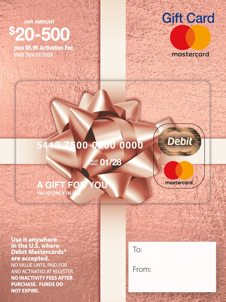 King Soopers Mastercard 20 500 Gift Card 5 95 Activation Fee 1 Ct