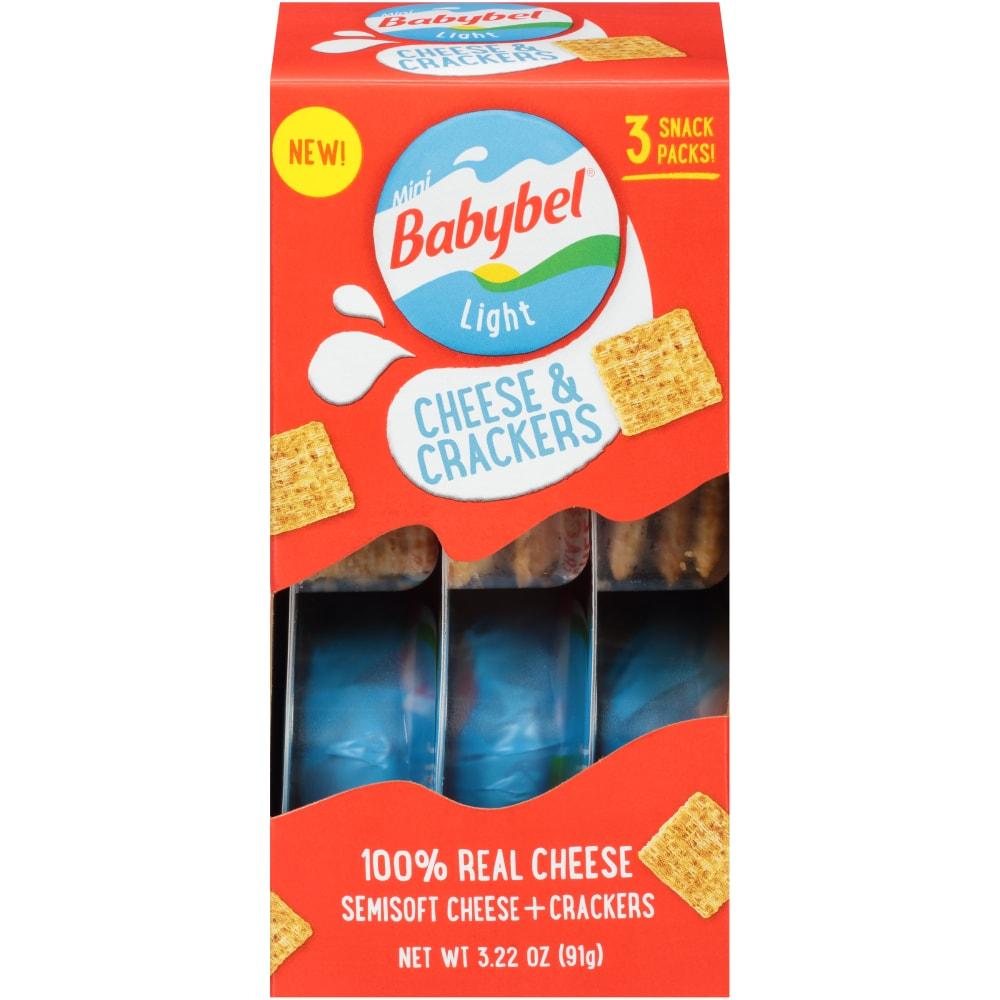 Mini Babybel Light Cheese & Crackers