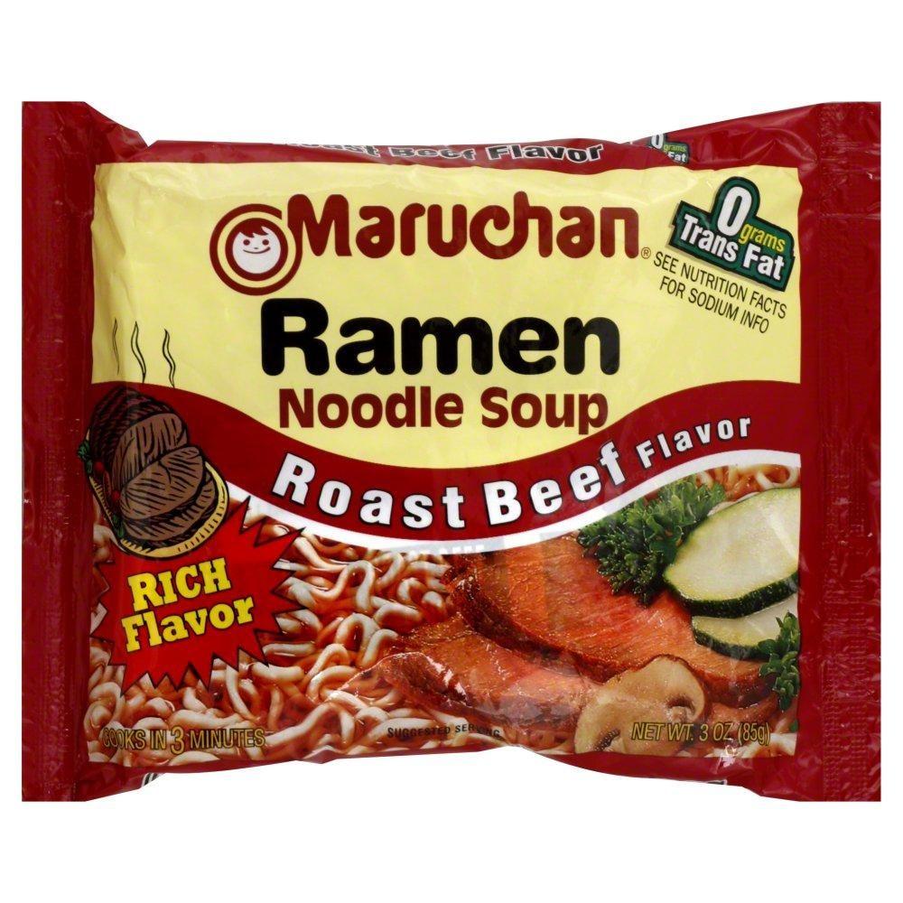 Kroger - Maruchan Roast Beef Ramen, 24