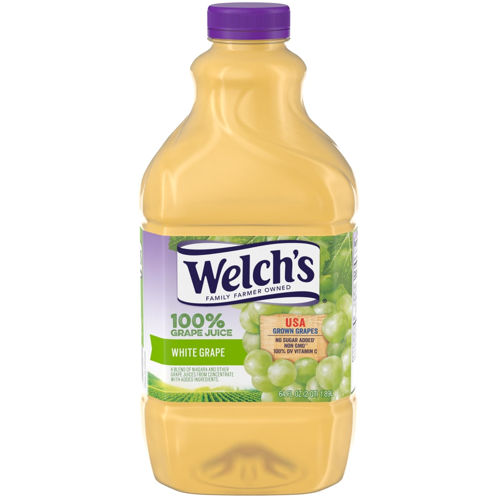 Welch's 100% White Grape Juice Perspective: front