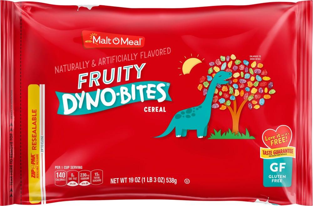 Malt-O-Meal Fruity Dyno-Bites Cereal