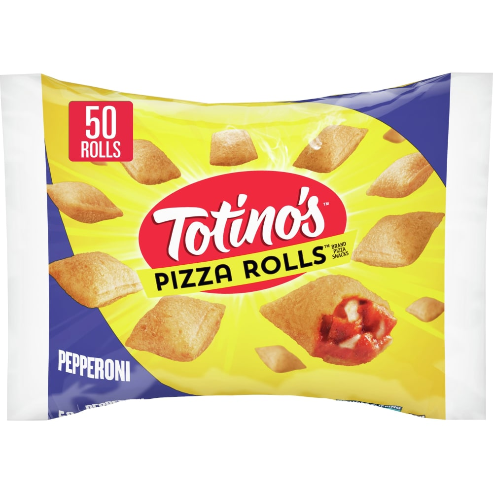 Totinos Pepperoni Pizza Rolls Pizza Snacks 50 Count 248 Oz