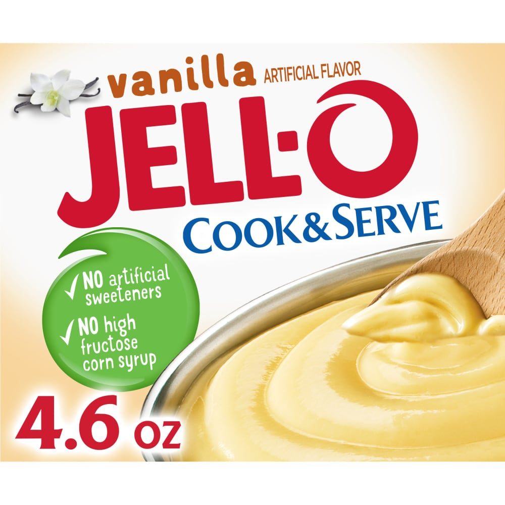 QFC - Jell-O Cook & Serve Vanilla Pudding & Pie Filling Mix