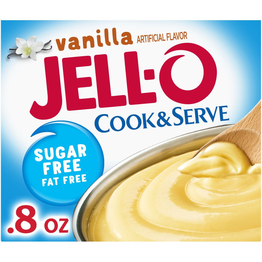 Mariano S Jell O Sugar Free Fat Free Cook Serve Vanilla Pudding Pie Filling Mix 0 8 Oz