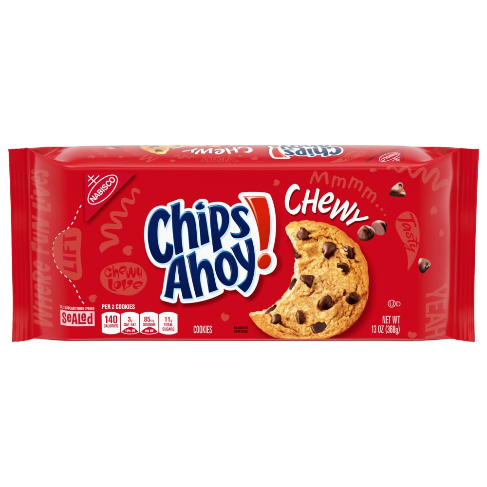 Magnificent Frys Food Stores Chips Ahoy Chewy Chocolate Chip Cookies 13 Oz Funny Birthday Cards Online Fluifree Goldxyz