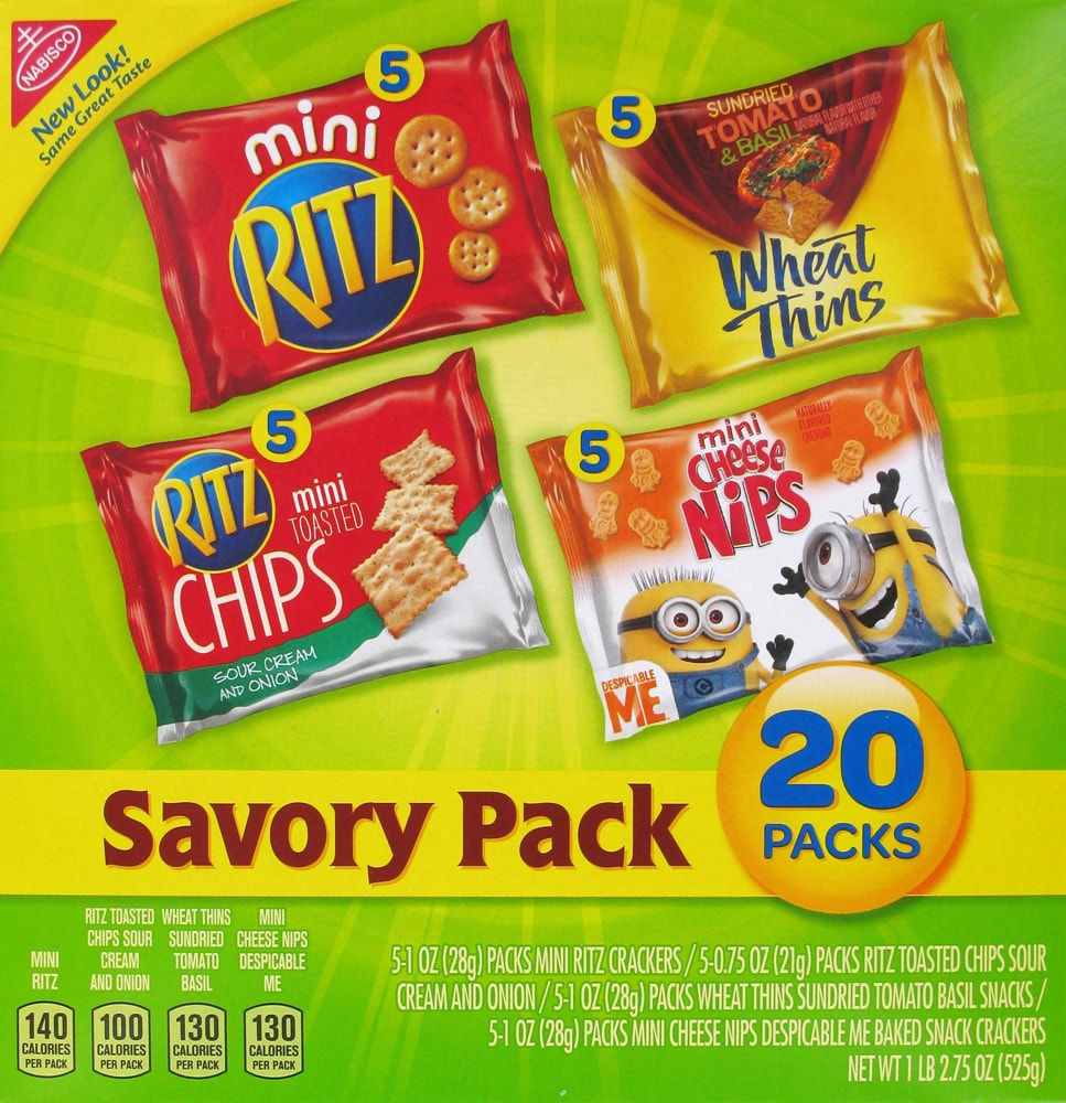 Pay Less Super Markets - Nabisco Savory Cracker & Snack