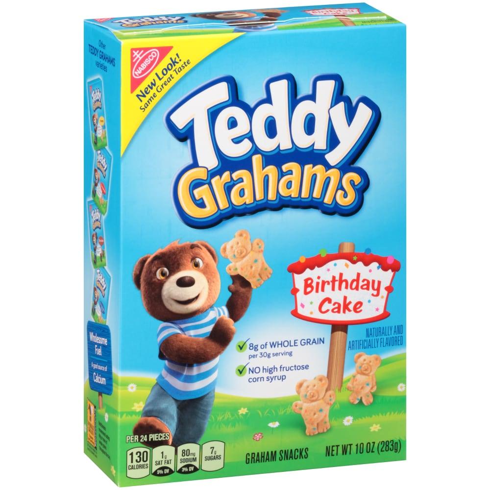 Teddy Grahams Honey Maid Birthday Cake