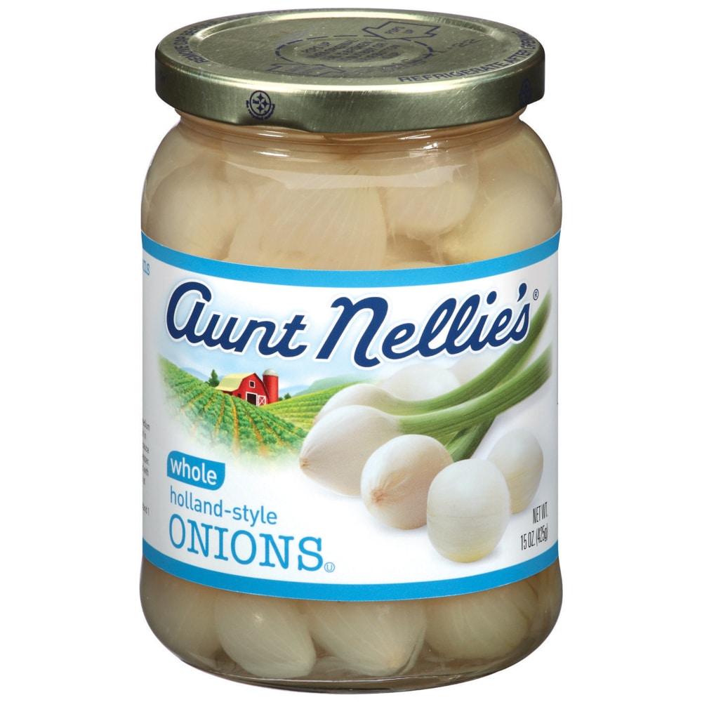 b1d14e4e0123 QFC - Aunt Nellie's Whole Holland-Style Onions, 15 oz