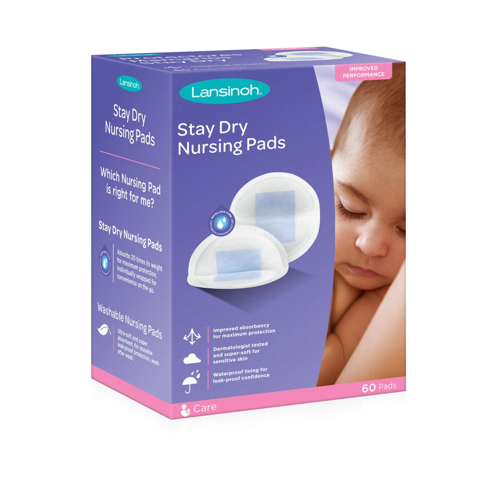 Extra Soft And Absorbent Philips AVENT Washable Nursing Pads 6-Count