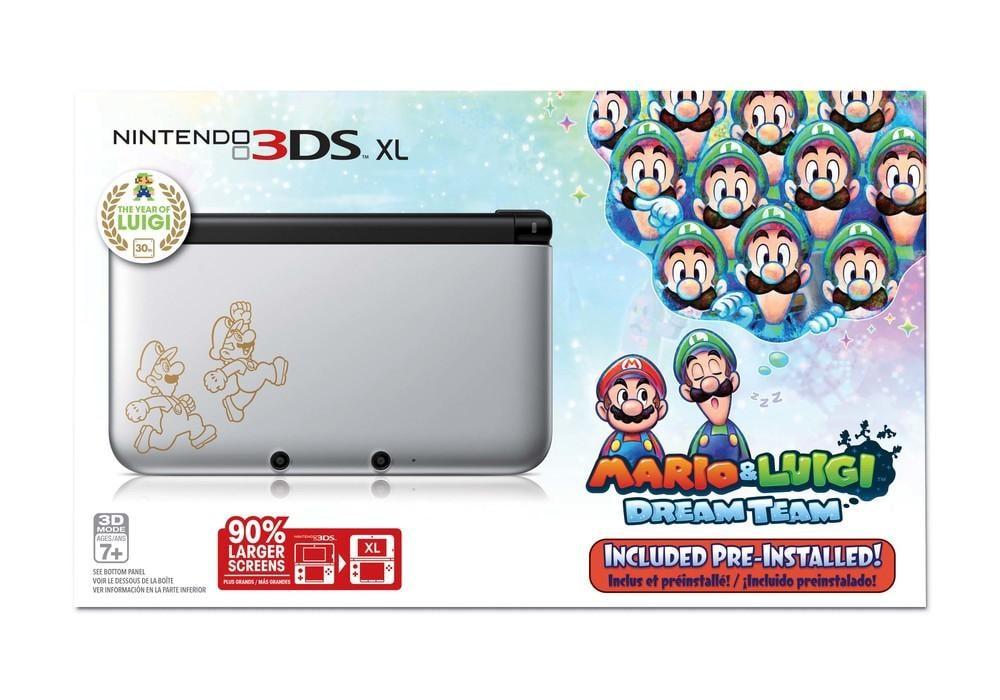 Mariano S Nintendo 3ds Xl Mario And Luigi Dream Team Limited