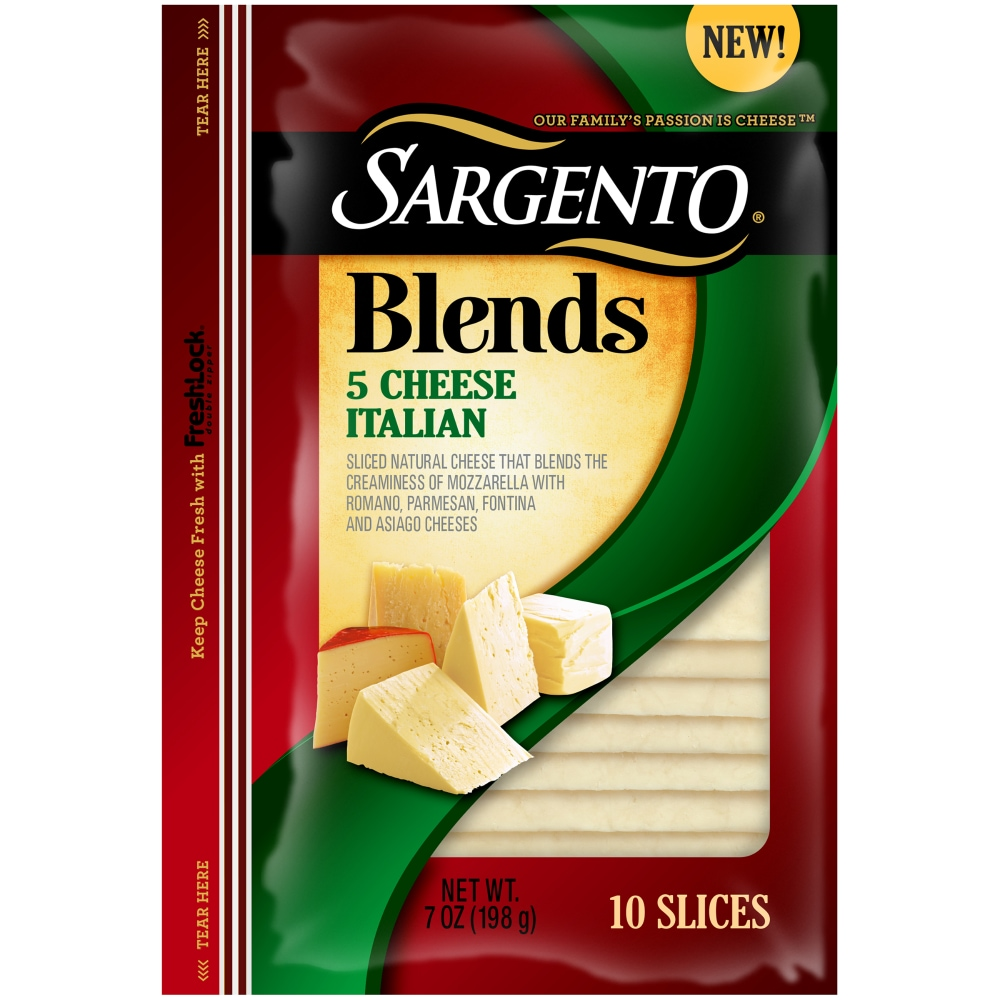 Sargento Blends 5-Cheese Italian Slices