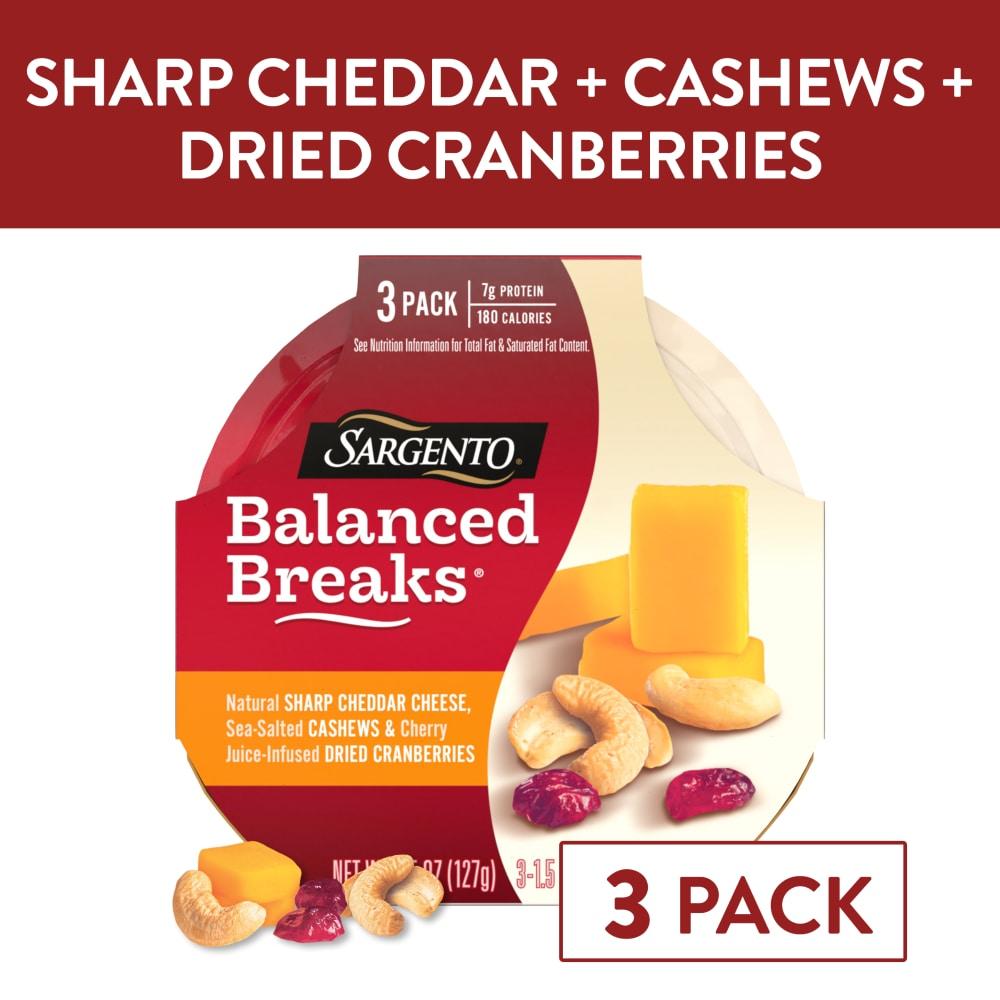 Sargento Balanced Breaks Sharp Cheddar