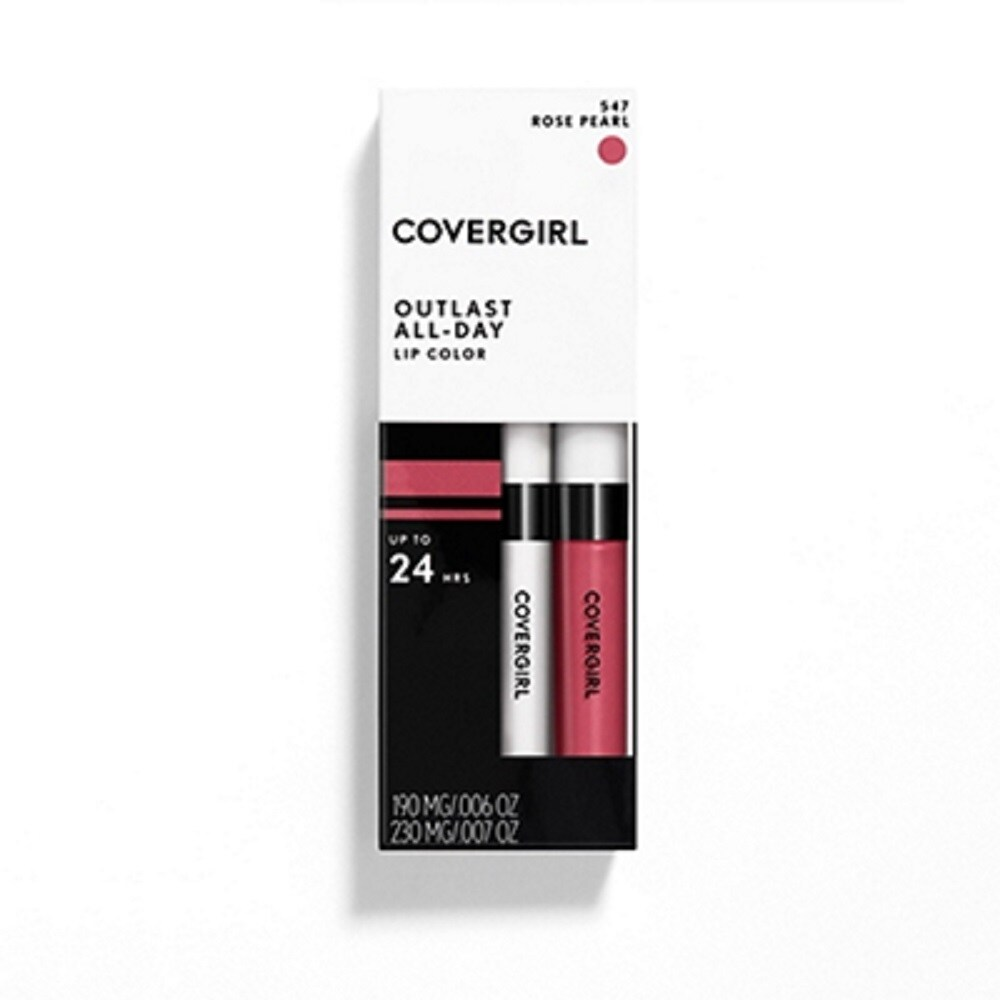 Food 4 Less - CoverGirl Outlast All-Day Rose Pearl Lipcolor