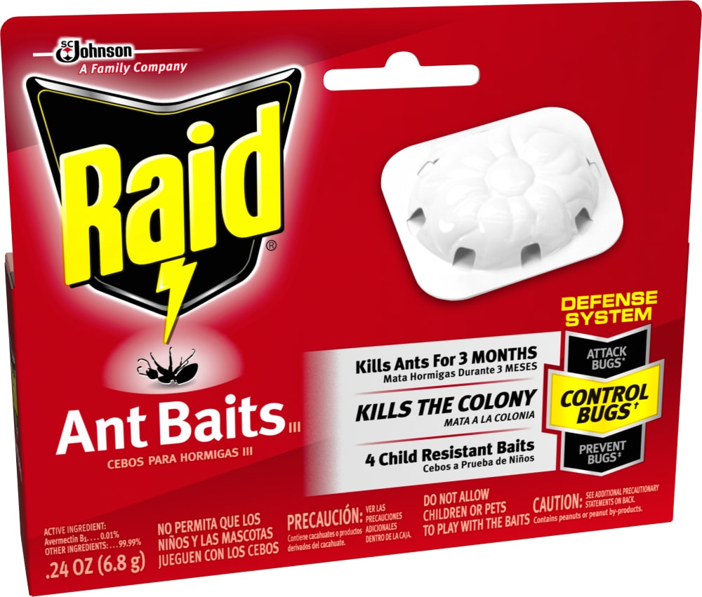 Mariano S Raid Ant Bait Insecticide 4 Ct