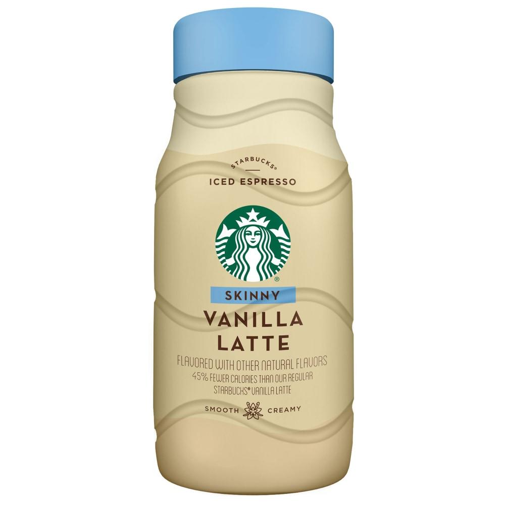 Starbucks Iced Espresso Classics Skinny Vanilla Latte 40 Fl Oz