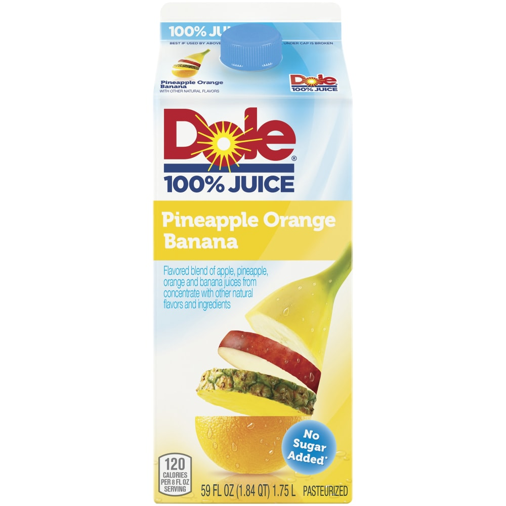 Dole Pineapple Orange Banana Juice