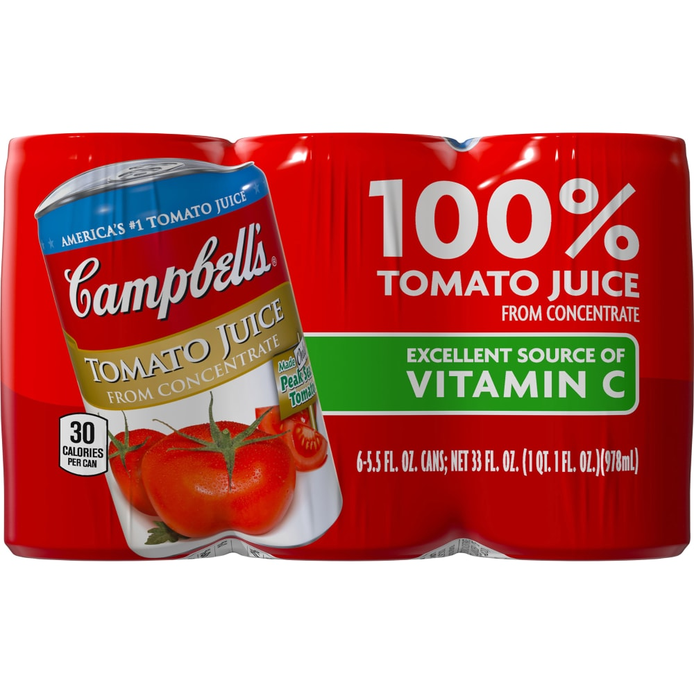 Kroger Campbell S Tomato Juice Mini Cans