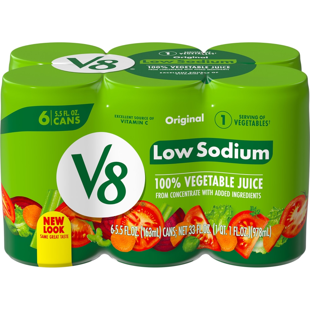 Fred Meyer - V8 Low Sodium Original 100