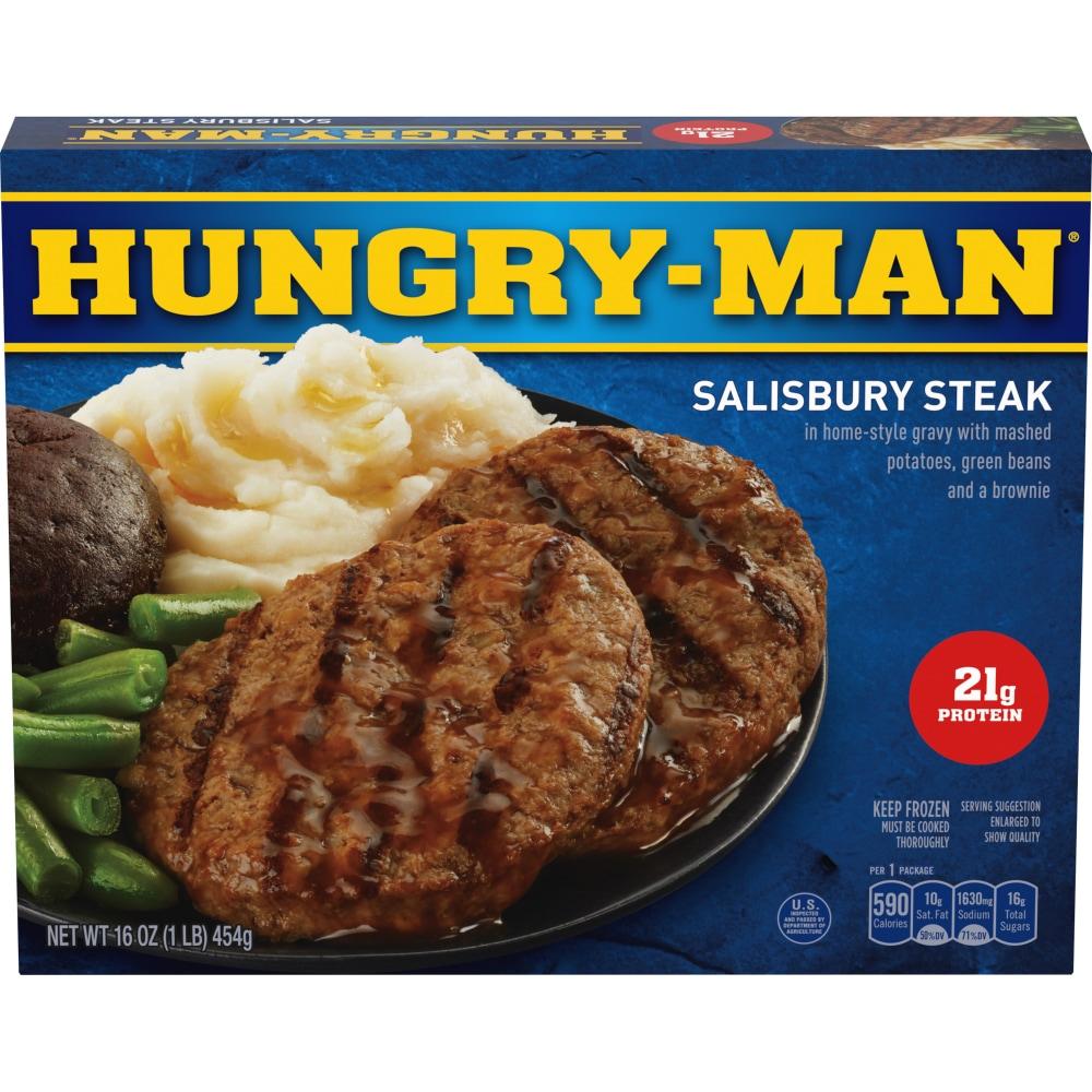 Hungry-Man Salisbury Steak