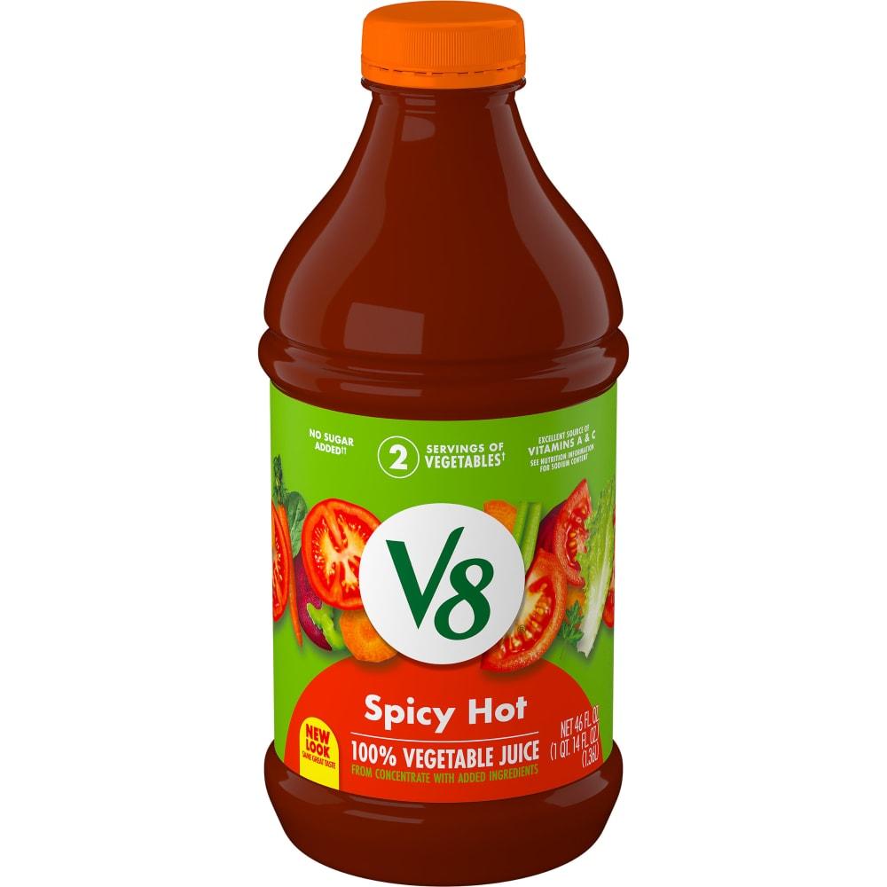 Kroger - V8 Spicy Hot Vegetable Juice, 46 fl oz