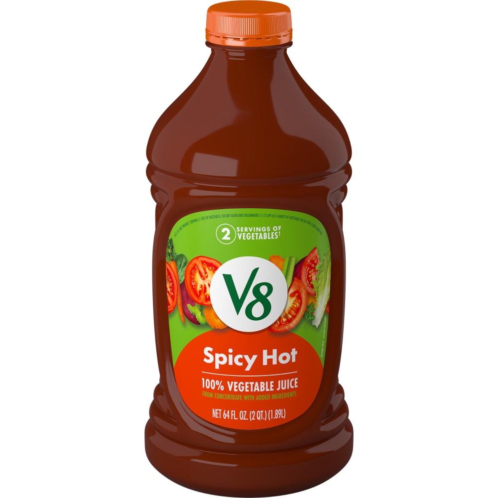 Kroger - V8 Spicy Hot Vegetable Juice, 64 fl oz