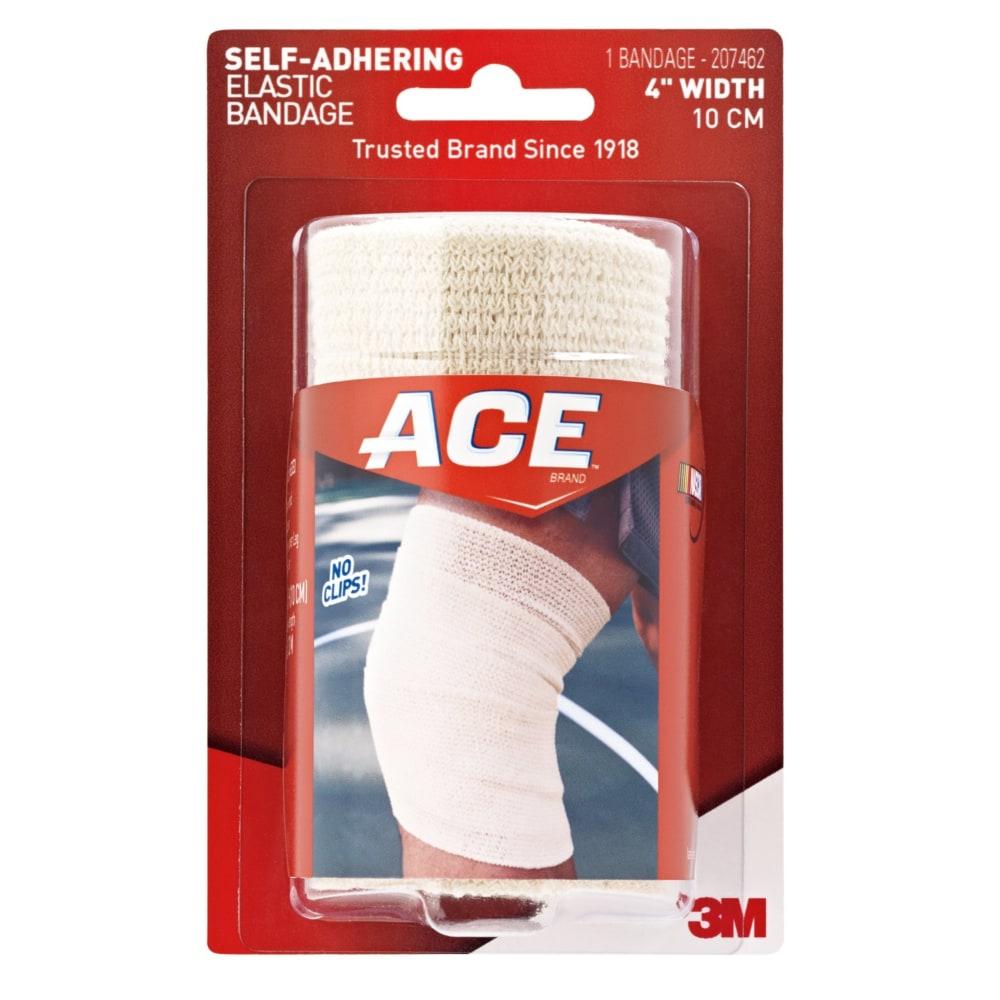 Kroger Ace Self Adhering Elastic Bandage 4 In