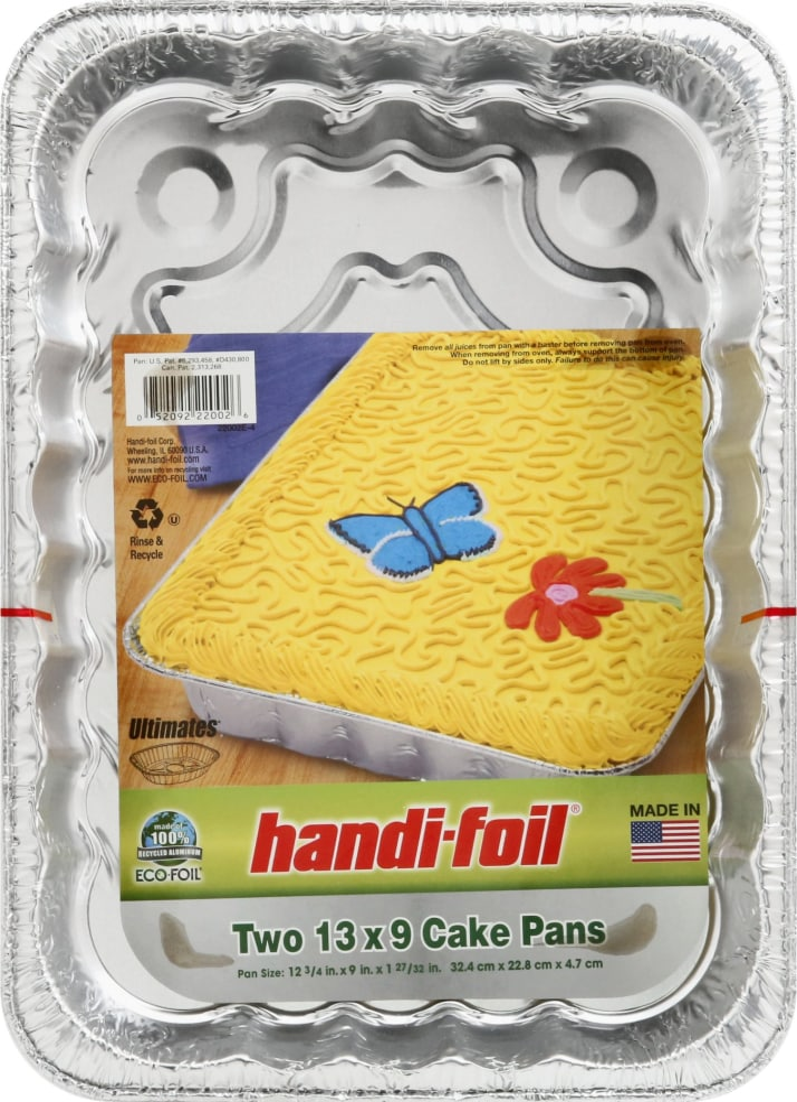 King Soopers - Handi-Foil Eco-Foil Cake Pans 13x9