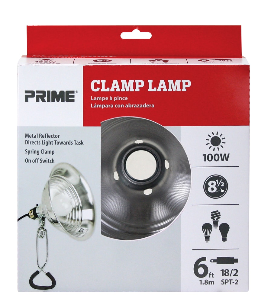 Fred Meyer Prime 100 Watt Clamp Lamp 1 Ct