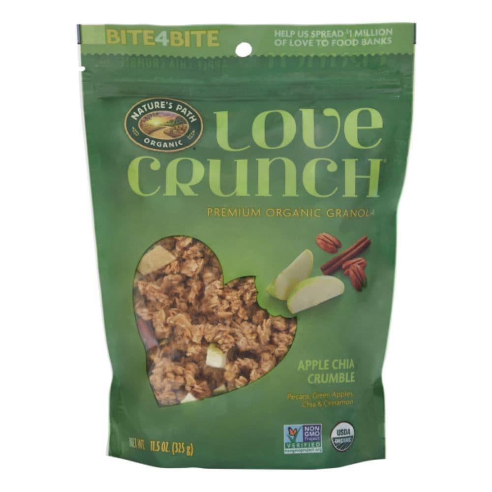 Nature S Path Organic Love Crunch Apple Chia Crumble Premium Granola 11 5 Oz Qfc