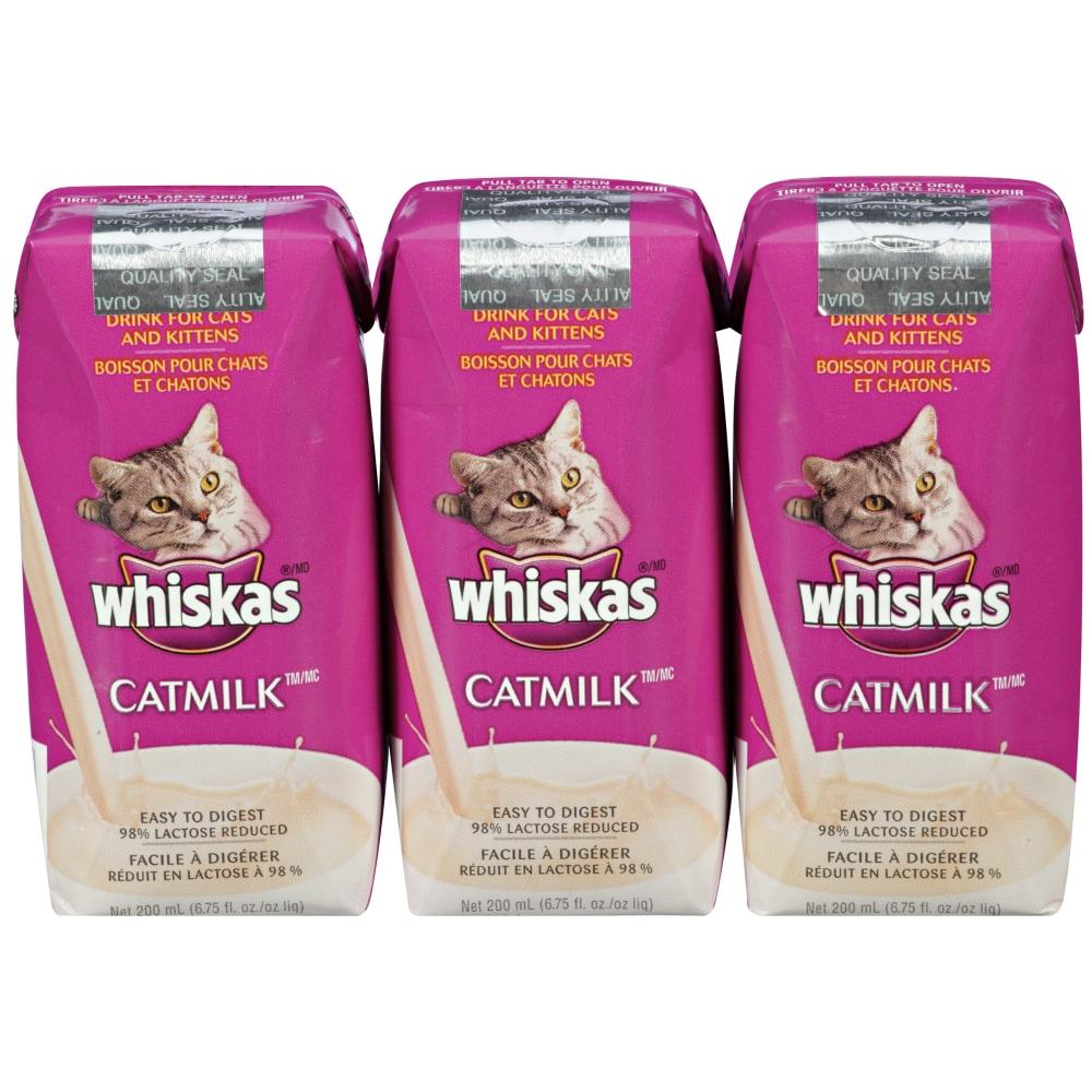 Kroger Whiskas Cat Milk 3 Ct 6 75 Fl Oz
