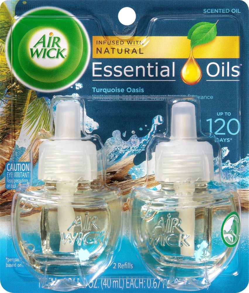 Kroger - Air Wick Life Scents Turquoise Oasis Oil Refills