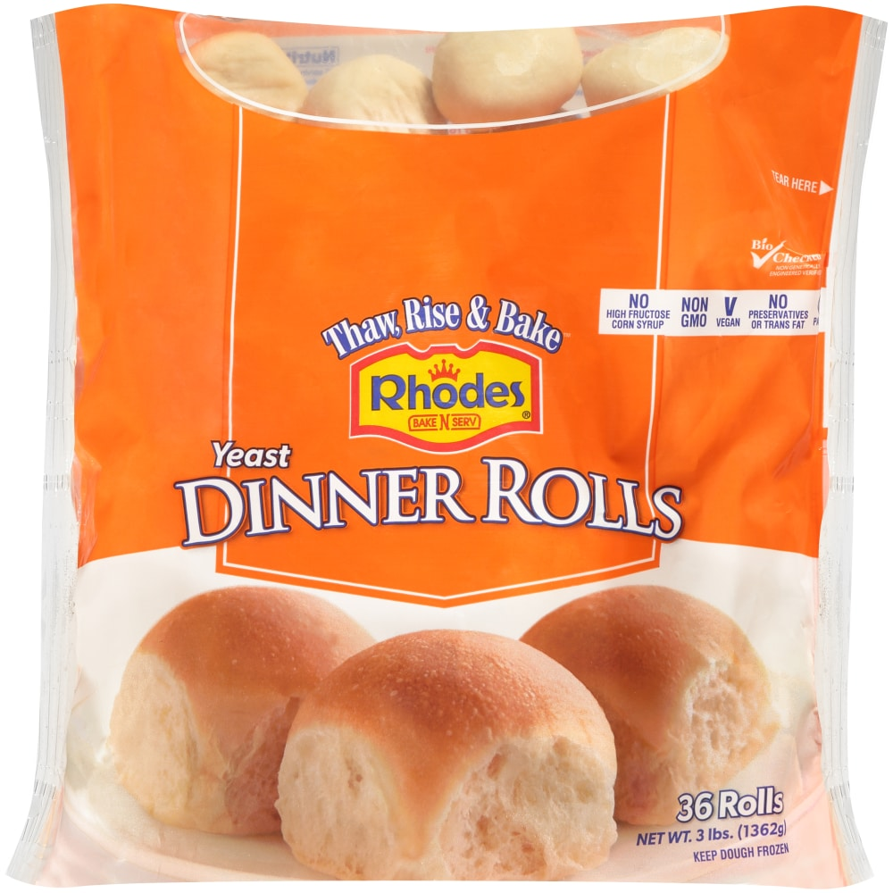 Dillons Food Stores Rhodes Bake N Serve Yeast Dinner Rolls 36