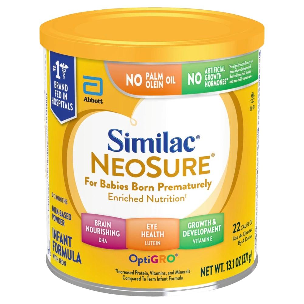 Alimentum Ready To Feed 2 Oz (max 3) similac neosure infant formula powder with iron, 13.1 oz