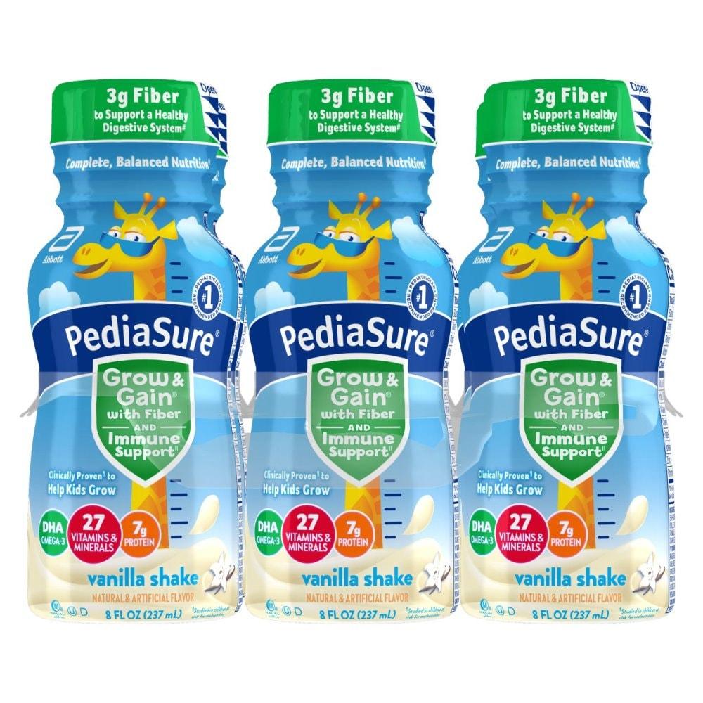 Alimentum Ready To Feed 2 Oz (max 3) pediasure grow & gain with fiber vanilla nutrition shake  ready-to-drink, 6 ct / 8 fl oz