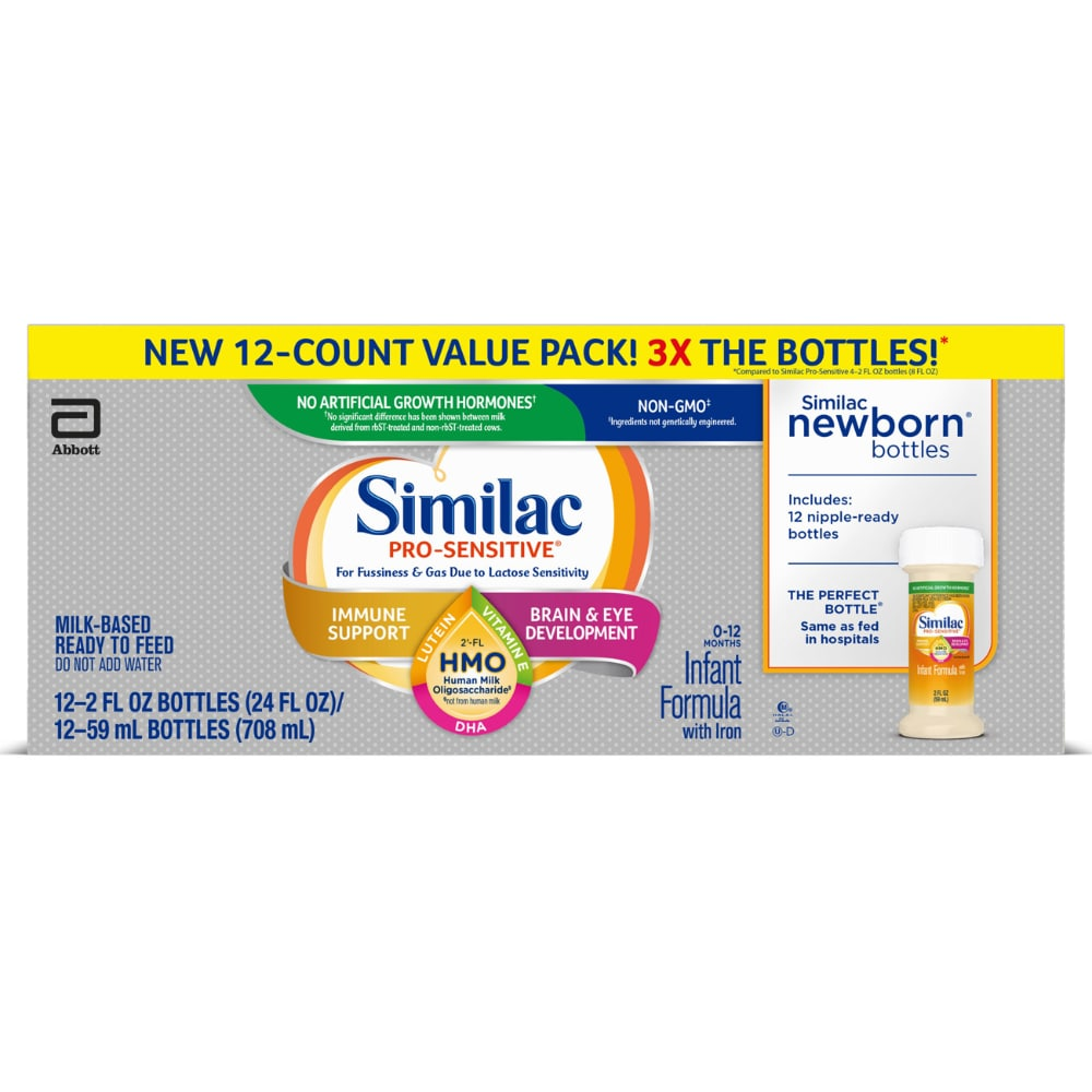 Alimentum Ready To Feed 2 Oz fry's food stores - similac pro-sensitive hmo milk-based