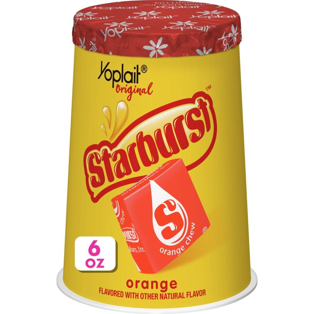 Yoplait Original Starburst Orange