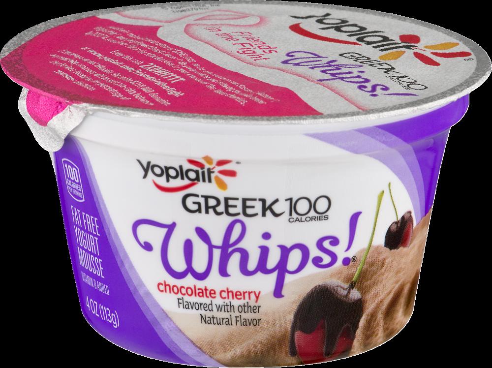 Whips Chocolate Cherry Yogurt