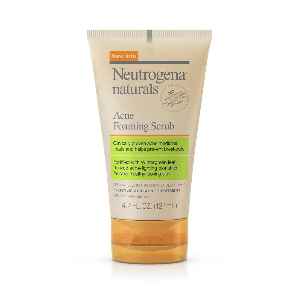Dillons Food Stores Neutrogena Naturals Acne Foaming Scrub 4 2