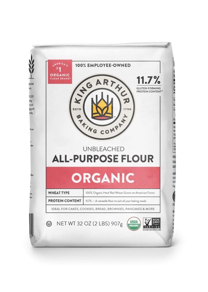 King Soopers - King Arthur Flour Flour Organic All-Purpose Flour, 2 lb