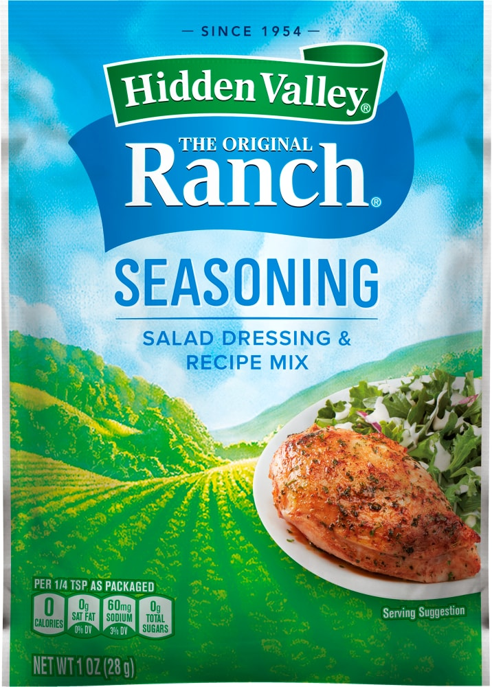 Hidden Valley Original Ranch Salad Dressing Seasoning Mix 1 Oz Metro Market