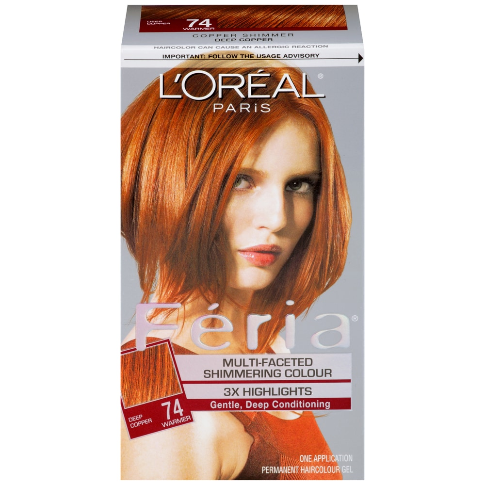 Kroger Loreal Feria Copper Shimmer Hair Color