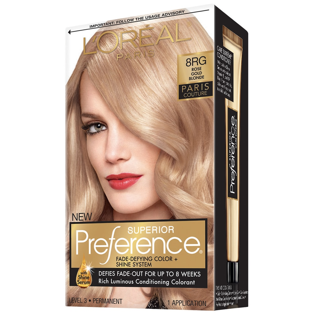 Smith S L Oreal Superior Preference Rose Gold 8rg Hair Color