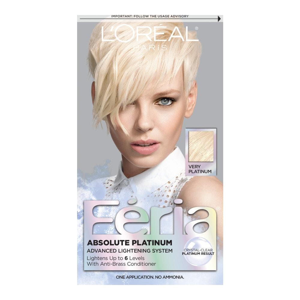 Marianos Loreal Feria Absolute Platinum Very Platinum Hair Color